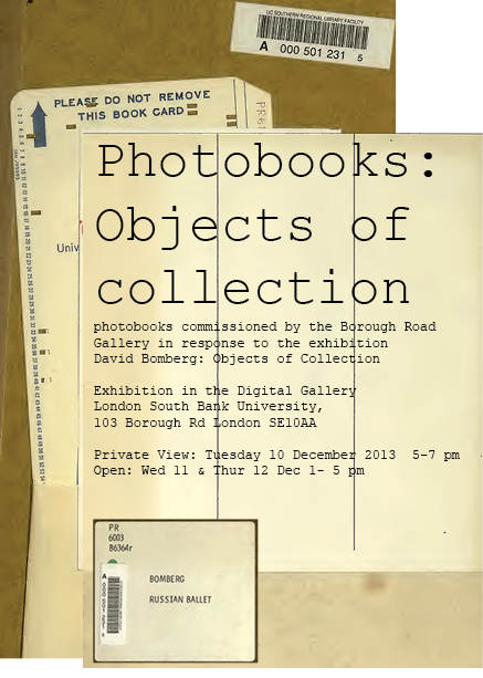 Photobooks: Objects of collection