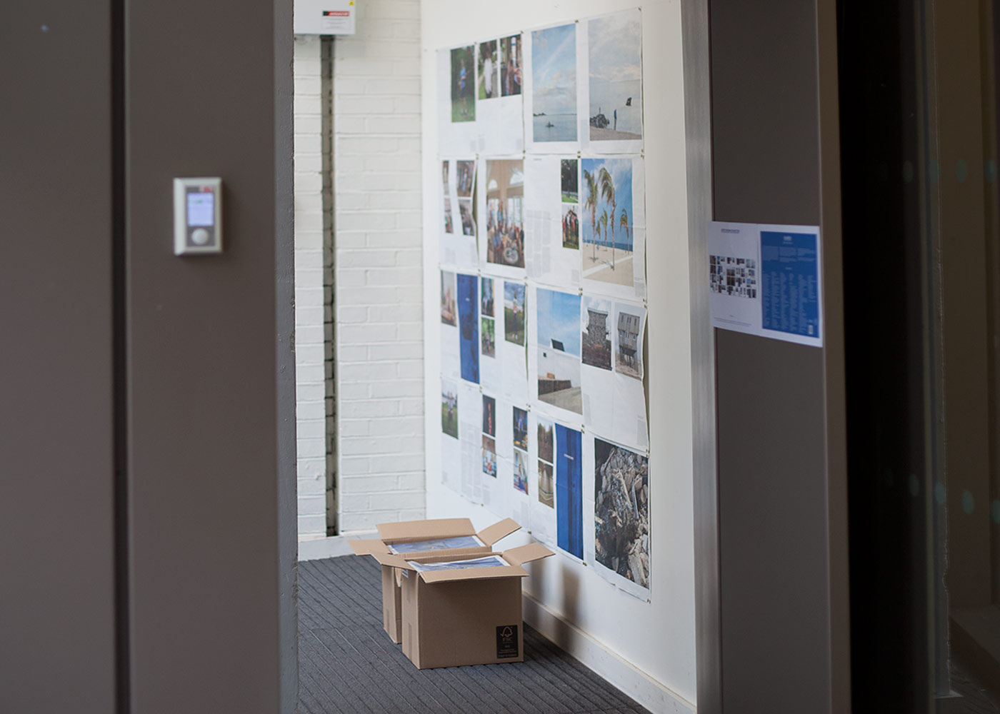 Ə /UH/-BOOKS: A PROJECT SPACE FOR MATERIAL PUBLISHING, galleries recto + verso