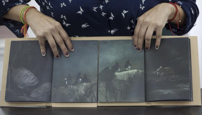 Maria Portaluppi, This is not paradise, Page turner: photography, the book and self-publishing exhibition, Lisbon Photobook Fair at the Arquivo Municipal de Lisboa Fotográfico, November 2017