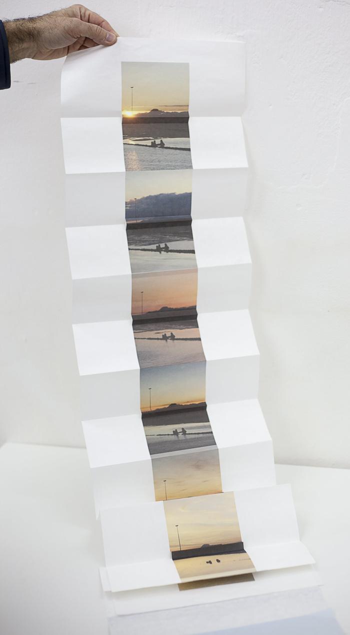 Maria Prada, photobookwork, Page turner: photography, the book and self-publishing exhibition, Lisbon Photobook Fair at the Arquivo Municipal de Lisboa Fotográfico, November 2017