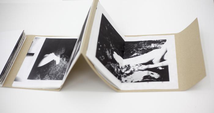 Sara Rocio, photobookwork, Page turner: photography, the book and self-publishing exhibition, Lisbon Photobook Fair at the Arquivo Municipal de Lisboa Fotográfico, November 2017