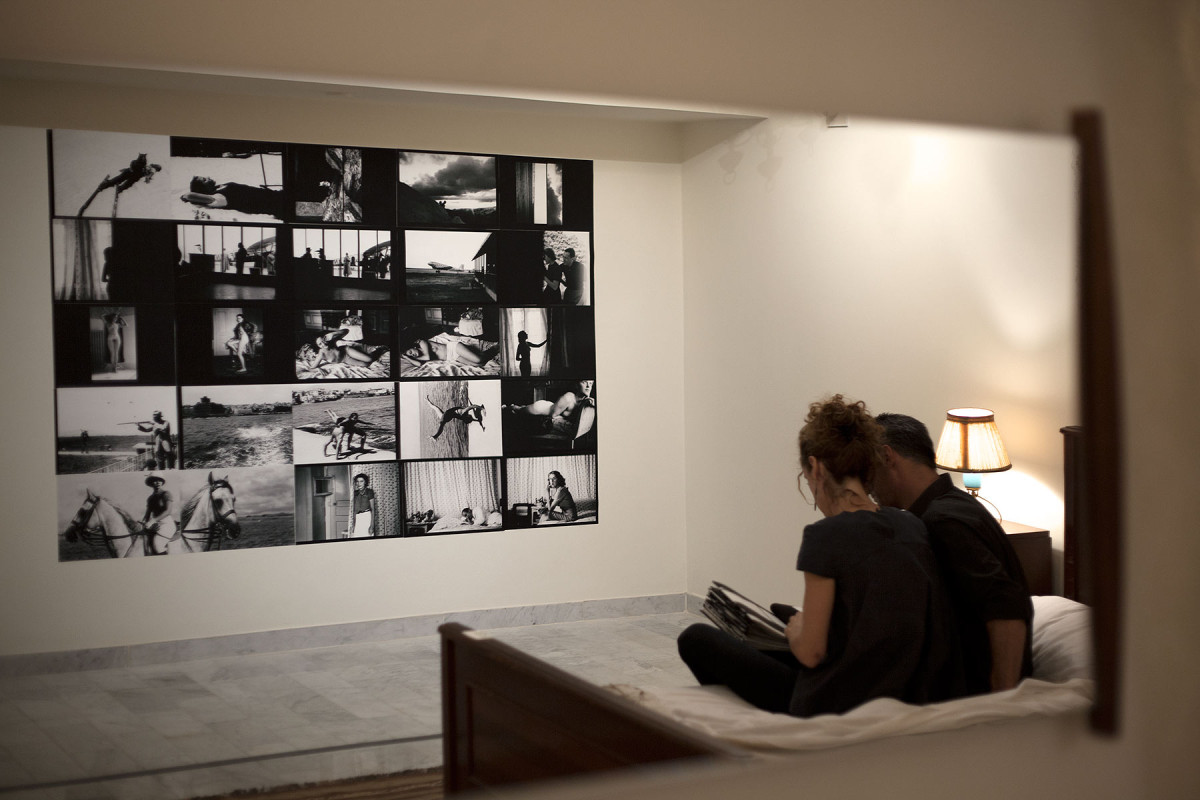 paula roush, Torn Folded Curled, installation view, Makan/ Plan Bey, Beirut September 2015