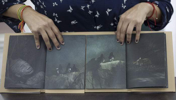 Maria Portaluppi, This is not paradise, Page turner: photography, the book and self-publishing exhibition, Lisbon Photobook Fair at the Arquivo Municipal de Lisboa Fotográfico, November 2017